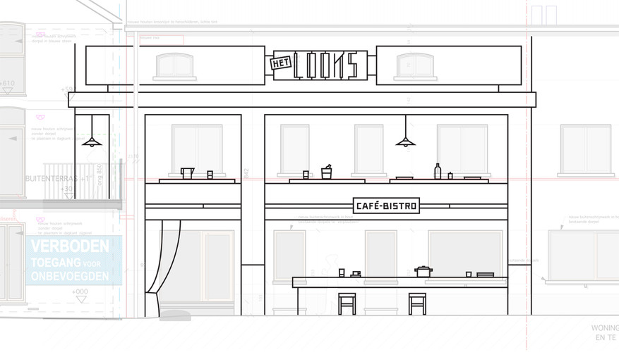 HetLooks Drawing of the design by Aam Solleveld
