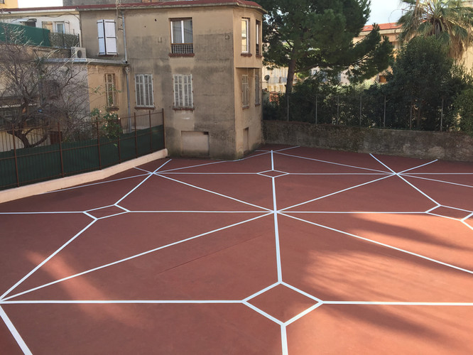 Artwork for the square of le Suquet