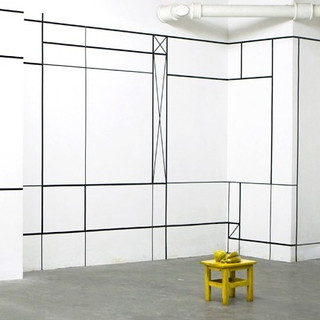 AM Space, Shanghai, CN, 2012, Solo Exhibition with site specific instalation by Aam Solleveld
