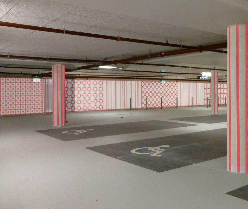P10 parkeergarage Nieuwegein, Nederland