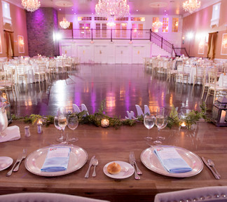 Hamilton Manor Reception Ballroom