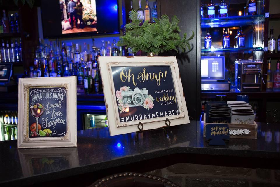 Hamilton Manor Cocktail Hour Bar