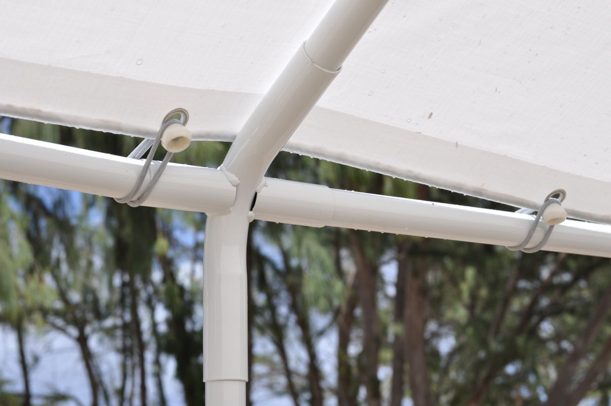 "Canopy 5"" White Ball Bungee Cords"