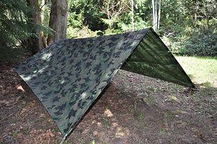 Dry Top Camouflage Tarp