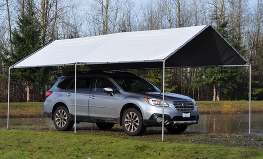 Dry Top Car Canopy System
