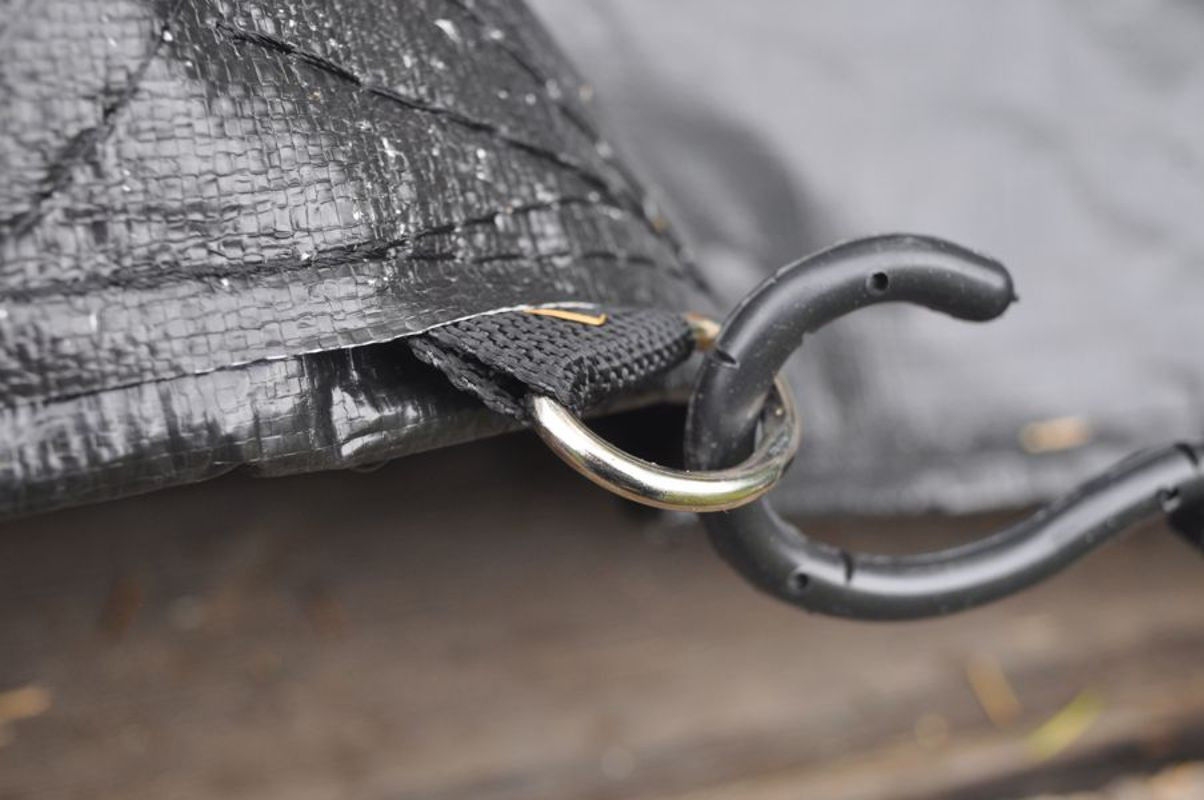 Dry Top Super Duty Truck Tarp w/ D Rings