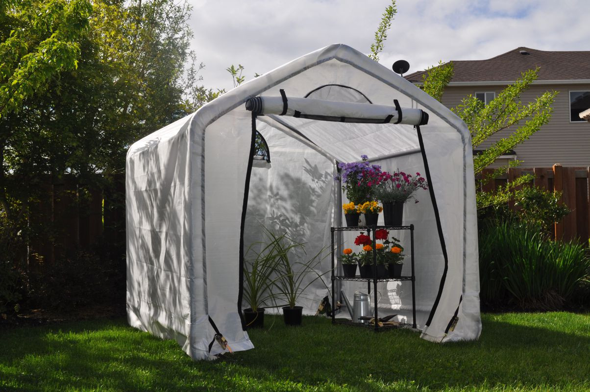 Dry Top Greenhouse Canopy System
