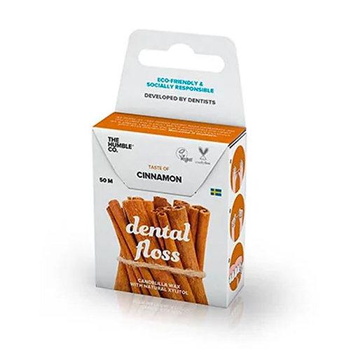 Fio Dental Orgânico Natural Cinnamon (canela) - 50m