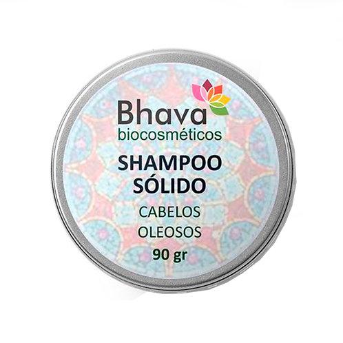 Refil Shampoo Sólido Natural Cabelos Oleosos 90 gr