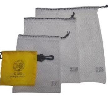 Kit 3 Bags para Compras