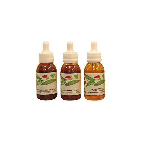 Ecokit com 3 Extratos Fitoglicerinados