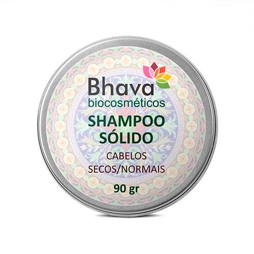 Shampoo Sólido Natural Cabelos secos/normais 90 g