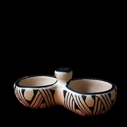 Petisqueira em Cerâmica Wauja