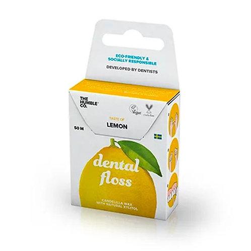 Fio Dental Orgânico Natural Lemon (limão) - 50m