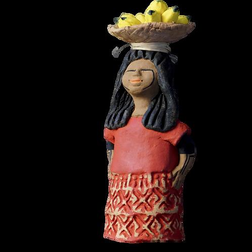 Boneca Bugra em Cerâmica