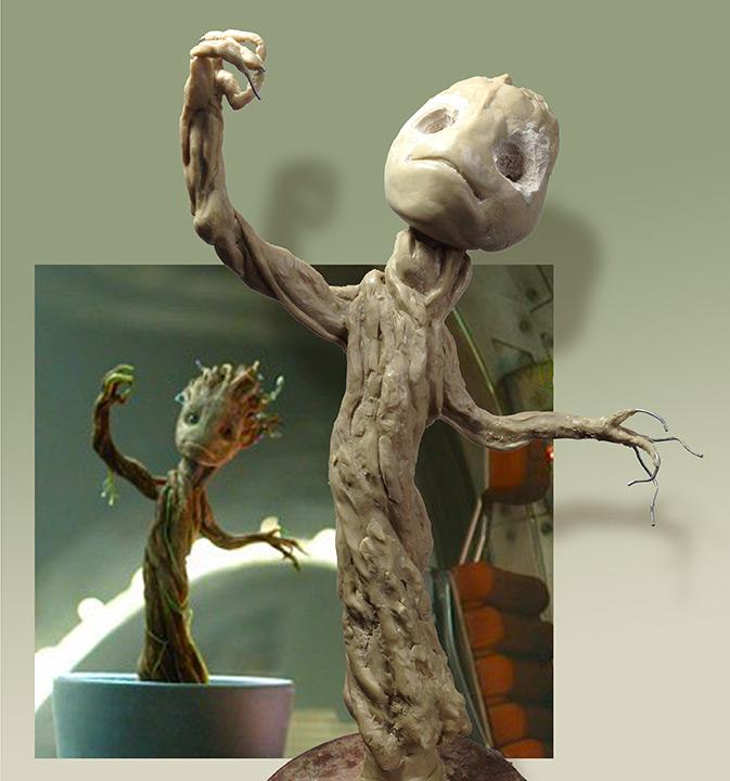 Growing Groot