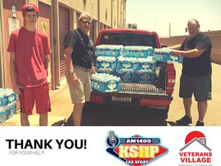 5,000 Bottles of Water from KSHP