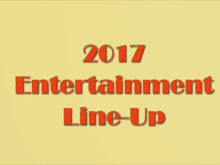 2017 ENTERTAINMENT LINEUP FOR THE 3RD ANNUAL NELLIS CREECH MILITARY, VETERANS & FIRST RESPONDERS