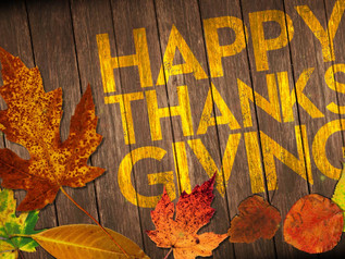 Happy Thanksgiving from Armed Forces & Military Appreciation Inc.