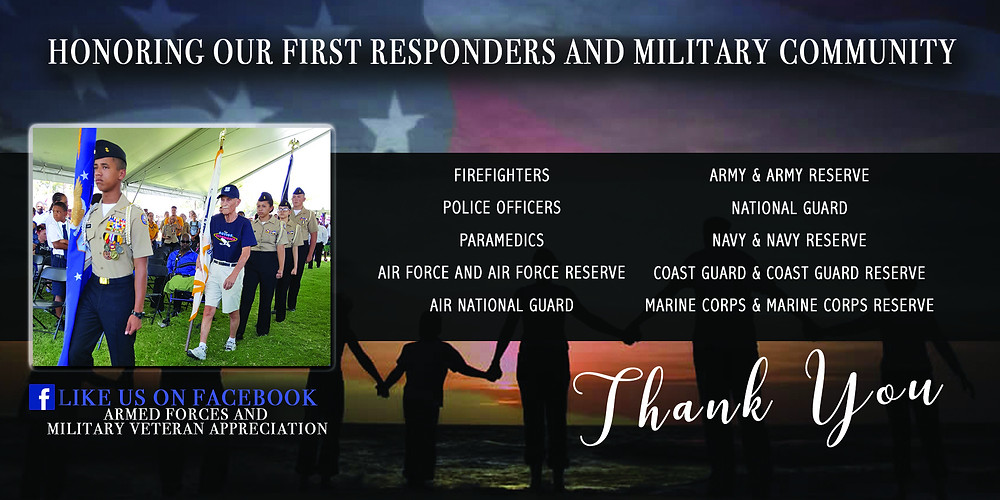 Join us on September 8 at the beautiful Craig Ranch Regional Park as we celebrate our active military, veterans, first responders and their families.  Pause	 -0:38 Additional Visual Settings Click to enlarge	Unmute