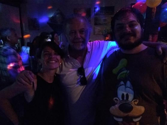 Con Raúl Wainsten Y Gastón Truffat de radio Acariciando Tiburones