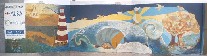 Mural en MDQ