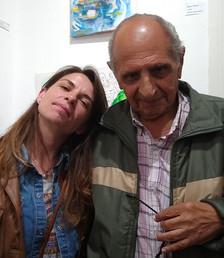 Con Domingo Florio, director de tesis.