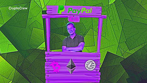 Paypal: planea habilitar la venta de Criptomonedas