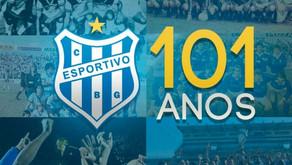 101 anos: Clube Esportivo celebra aniversário marcado por temporada histórica