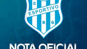 Nota Oficial: Copa FGF 2021