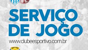 Serviço de Jogo: ESPORTIVO x FERROVIÁRIA