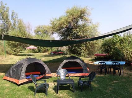 אוהלים בצפון