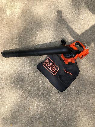 Black + Decker Electric Blower and Vacuum