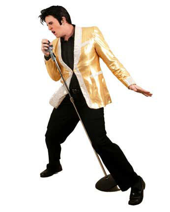 Jed Duvall as Elvis--the 1950's