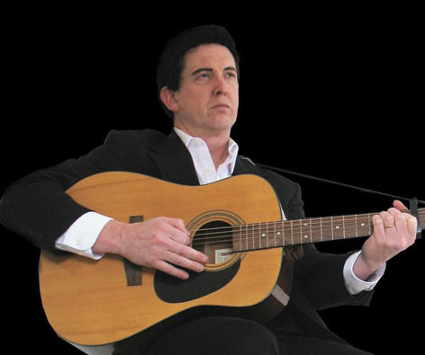 Jed Duvall as Johnny Cash