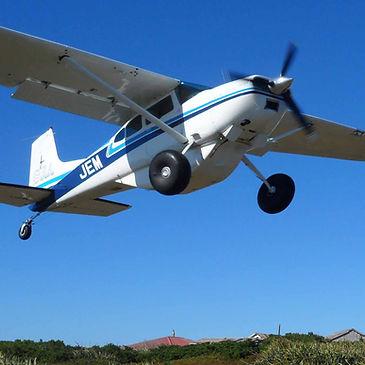 Cessna 185 Dog Island