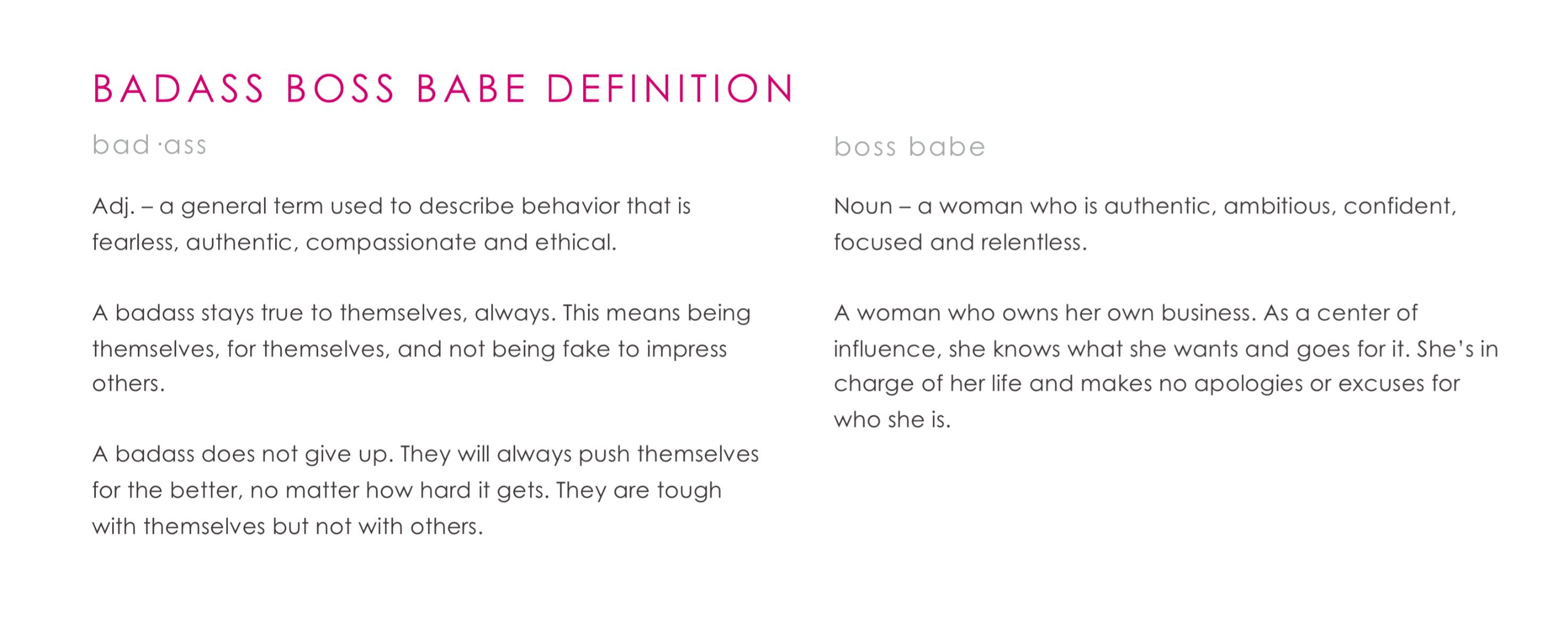 The Badass Boss Babe Club Women S Networking Groups