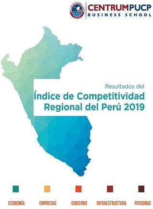 Folleto del Indice de Competitividad Regional del Perú 2019