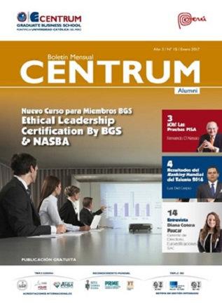 Boletín CENTRUM Alumni N° 15