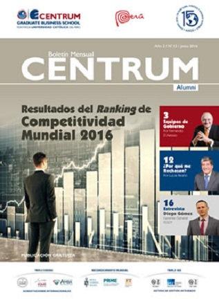 Boletín CENTRUM Alumni N° 12