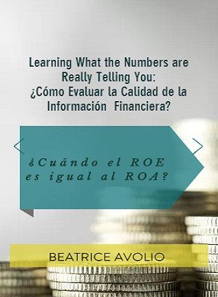 ¿Cuándo el ROE es igual al ROA?