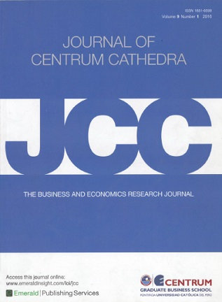 Journal of Centrum Cathedra 2016; Vol. 9(1)