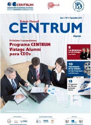 Boletín CENTRUM Alumni N° 4
