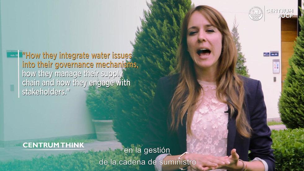 Responsabilidad Corporativa y el Agua en el Perú