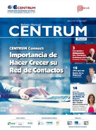 Boletín CENTRUM Alumni N° 18