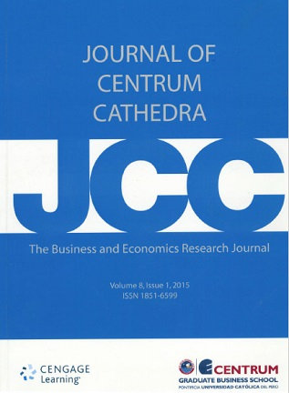 Journal of Centrum Cathedra 2015; Vol. 8(1)