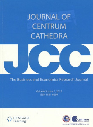 Journal of Centrum Cathedra 2012; Vol. 5(1)