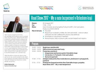 Program Road Show 2017 v Ústeckém kraji
