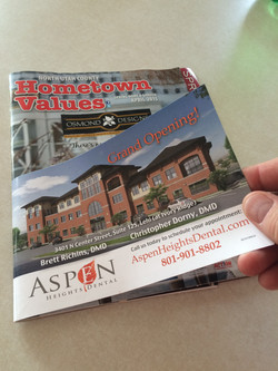 Hometown Values Front Cover Wraps