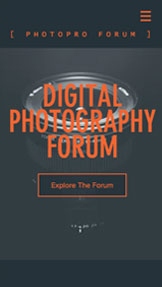 Bloggar & forum website templates – Forum för digitala fotografier
